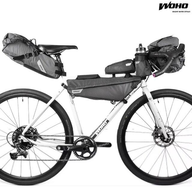 Woho Xtouring Bicycle Handlebar Bag Accesory Mtb Waterproof Head Road Bike Cycling Pannier Bicicleta
