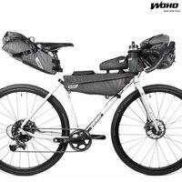 WOHO XTOURING Bicycle Handlebar Bag Accesory Bag MTB Waterproof Head Bag Road Bike Cycling Pannier Bicicleta Bag Storage Pack