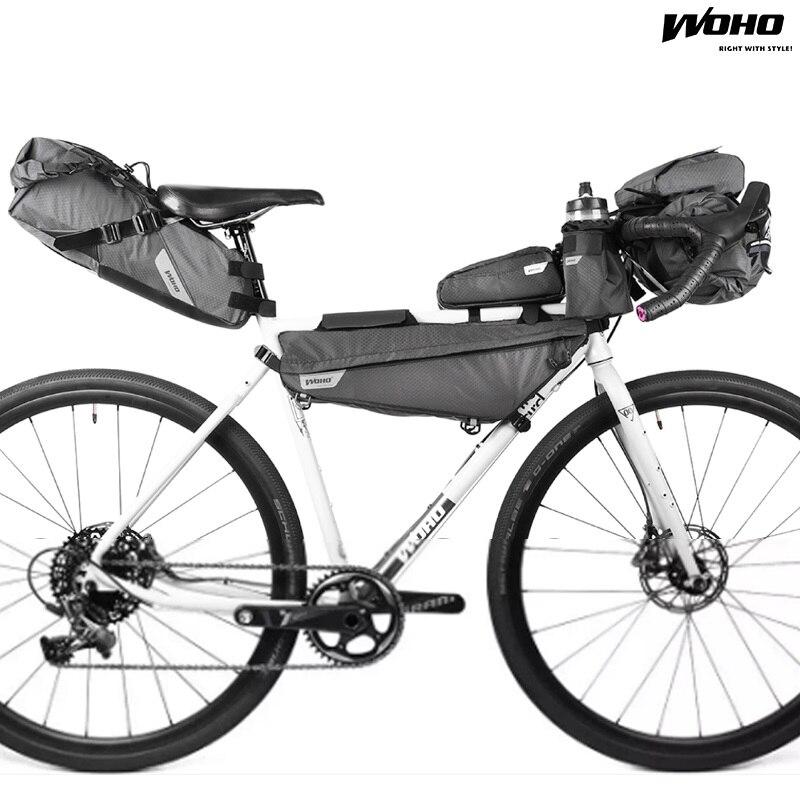 WOHO XTOURING Fahrrad Lenkertasche Accesory Tasche MTB Wasserdichte ...