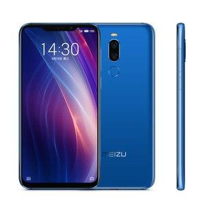 Image 4 - Téléphone portable Original Meizu X8 4G 64G 4G LTE Snapdragon 710 Octa Core 6.2 2220x1080P double caméra arrière 3210mAh empreinte digitale