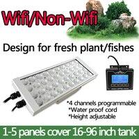 DSunY затемнения программируемое led освещение для аквариума освещение полный спектр резервуар для пресной воды рыбы завод светодиодные лампы