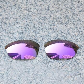 E O S spolaryzowane wzmocnione wymienne soczewki do okularów Oakley Half Jacket 2 0-fioletowe fioletowe lustro spolaryzowane tanie i dobre opinie Eye Opening Stuff Poliwęglan Okulary akcesoria Fit for Oakley Half Jacket 2 0 Frame UV400 One size inches As your choice