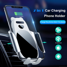 Car Wireless Charger,Car Charging Phone Holder Air Vent Mount For iPhone Xs/Xs Max/XR/X/ 8/8 Plus,Samsung Galaxy S10/S10+/S9 /S9 phone camera lens 9 in 1 phone lens kit for iphone x xs max 8 7 plus samsung s10 s10e s9 s8