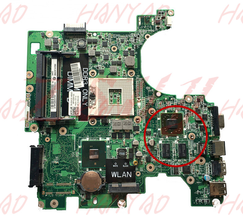 0W15K 00W15K CN 00W15K For Dell 1764 laptop motherboard mainboard DA0UM3MB8E0 DDR3 100 tested in Laptop Motherboard from Computer Office