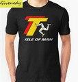 2016 Лето 100% хлопок TT TOURIST TROPHY-МЭН печать футболки с коротким рукавом футболки юмор футболку хип-хоп смешно тройники