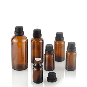 Image 3 - 5 100ML Großen Kopf Bernstein Braun Glas Drop Flasche Aromatherapie Flüssigkeit für ätherisches grundlegende massage öl Pipette Flaschen nachfüllbar