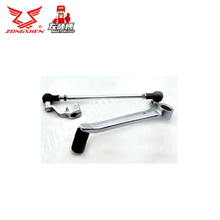 Zongshen 250cc motorcycle parts zs250gs gear shift pedal chrome plated FREE SHIPPING cheap STEEL 0 45kg Abarth gear shifter KOOL BOOM