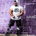 New Mens Hoodie T-Shirt Golds Gyms NPC Powerhouse Gorilla Wear Fitness& Bodybuilding & Workout Clothes Cotton T-Shirt