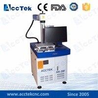 fiber laser marker AK20F for acrylic marking