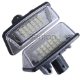 1Pair Car LED number License Plate Light 12V SMD LED lamp Car Styling For Toyota Crown S180 Corolla Vios Previa accessories