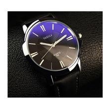 Relógio Dos Homens de negócios de Quartzo Relógio De Couro do PLUTÔNIO Dos Homens Relógios Top Marca de Luxo Relógios de Pulso Relogio masculino Presente Marrom Preto