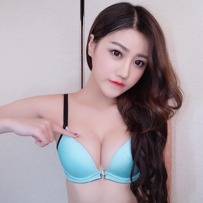 Teenage Girl In Bra