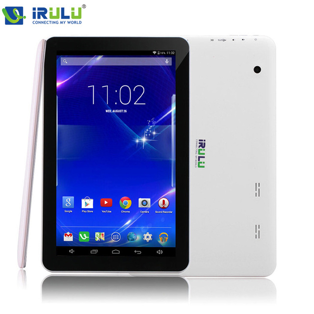 IRULU eXpro X1Plus 10.1 ''Планшетный Android 5.1 Quad Core 1 ГБ/16 ГБ Tablet PC GMS Dual Camerals 2-МЕГАПИКСЕЛЬНАЯ Bluetooth Wi-Fi 5500 мАч 1024x600