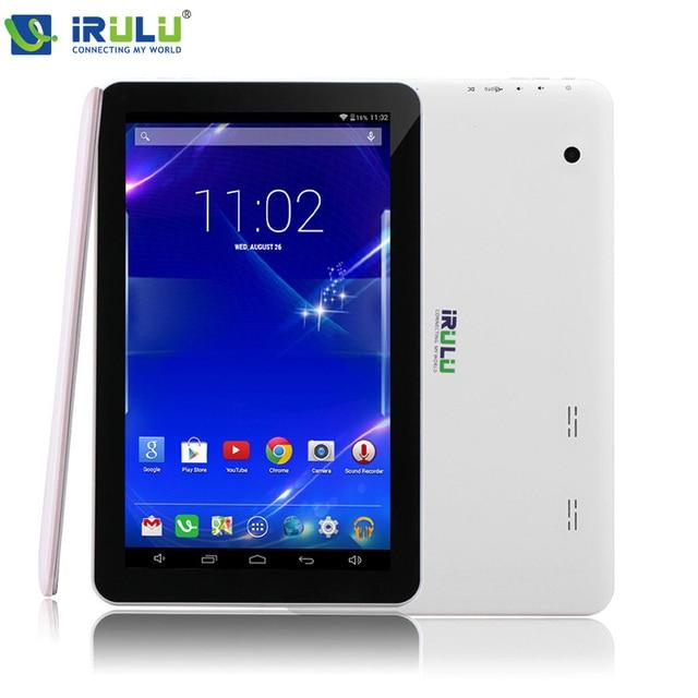 IRULU eXpro X1Plus 10.1 ''Планшетный Android 5.1 Quad Core 1 ГБ/16 ГБ Tablet PC GMS Dual Camerals 2-МЕГАПИКСЕЛЬНАЯ Bluetooth Wi-Fi 5500 мАч 1024x600