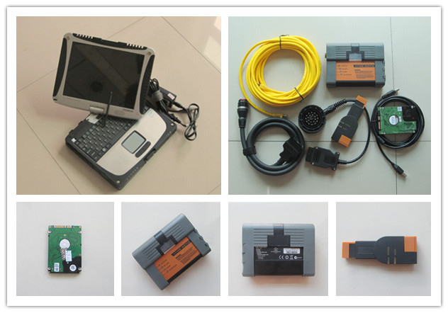 For bmw diagnostic tool icom a2 isis with laptop cf19 toughbook with software 500gb hdd 3in1 full set ready to use  цены
