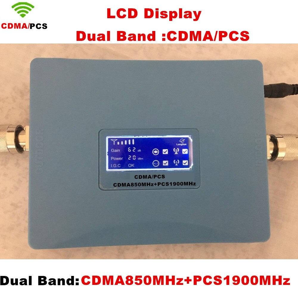 CDMA PCS 850-1900MHz Dual Ba nd Wireless WIFI Repeater Network Antenna Wifi Extender Signal AmplifierSignal Booster RepetidorCDMA PCS 850-1900MHz Dual Ba nd Wireless WIFI Repeater Network Antenna Wifi Extender Signal AmplifierSignal Booster Repetidor