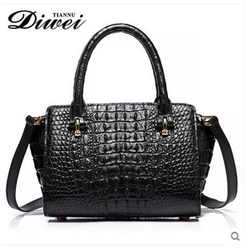 diwei 2018 new hot free shipping lady handbag real crocodile single shoulder bag inclined bag women handbag quality goods yuanyu 2018 new hot free shipping real thai crocodile women handbag female bag lady one shoulder women bag female bag