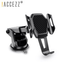 !ACCEZZ Car Phone Holder For iPhone XS MAX XR Xiaomi Huawei 360 Rotate Dashboard Windshield Car Mount Mobile Phone Holder Stand|Phone Holders & Stands| |  -