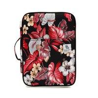 1PCS Multi Function Zipper Folder Cute Flower Type Large Capacity New Waterproof Briefcase A4 File Bag Outdoor School Supplies