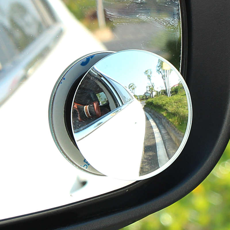 2pcs car mirror wide angle convex blind spot mirror parking auto motorcycle rearview adjustable. Black Bedroom Furniture Sets. Home Design Ideas