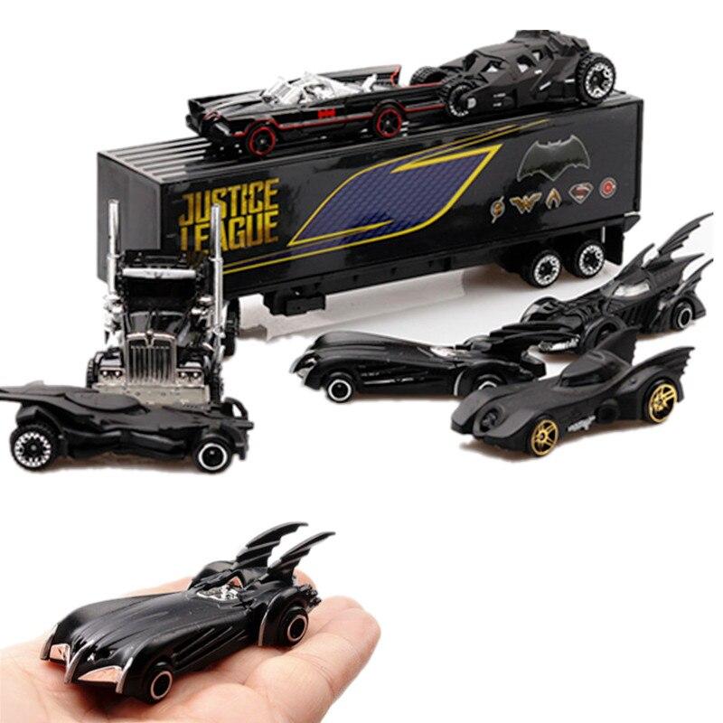 Simulation 1:64 Alloy Car Set Batman Batmobile Car  Diecasts & Toy Vehicles Car  Model Toys For Kids Children Gift