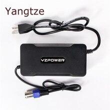 Yangtze В 54,6 в 4A 3A литий-ионный батарея зарядное устройство для В 48 В Lipo велосипед Мощность Инструмент скутер батарея Pack