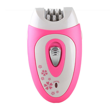 Kemei KM-207 Rechargeable Electric Lady Epilator 3 in 1 Set Hair Removal Cream for Women Hair Remove Shaving Machine Full Body