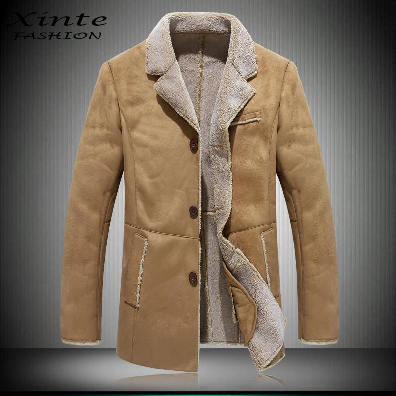 Popular Lamb Woolen Coat Men-Buy Cheap Lamb Woolen Coat Men lots ...
