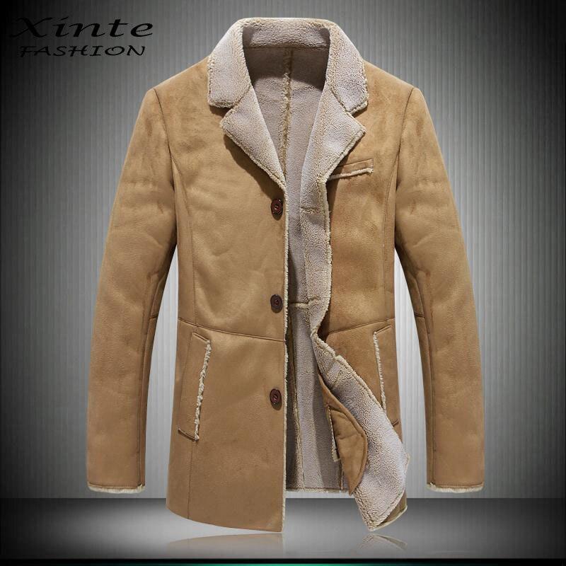 Popular Lamb Woolen Coat Men-Buy Cheap Lamb Woolen Coat Men lots ...
