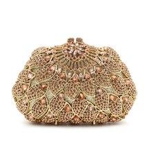 Bei Rushed Zeitlich begrenzte Die 2016 Europäischen Und Amerikanischen Luxus Durchbohrte Hand Voller Diamanten Yanbao hochwertige Damen Abendtasche