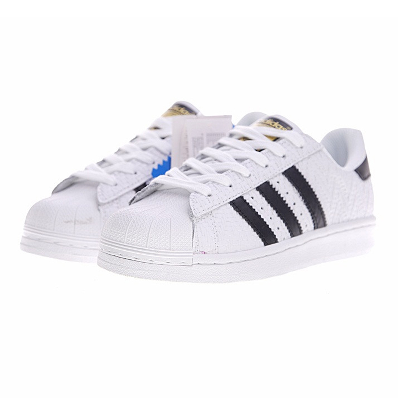 huge selection of 4ab49 3defc Aliexpress.com   Buy ADIDAS SUPERSTAR Gold Label Shells for Men  Skateboarding Shoes ,White,Non slip Waterproof Lightweight CP9758 from  Reliable ...