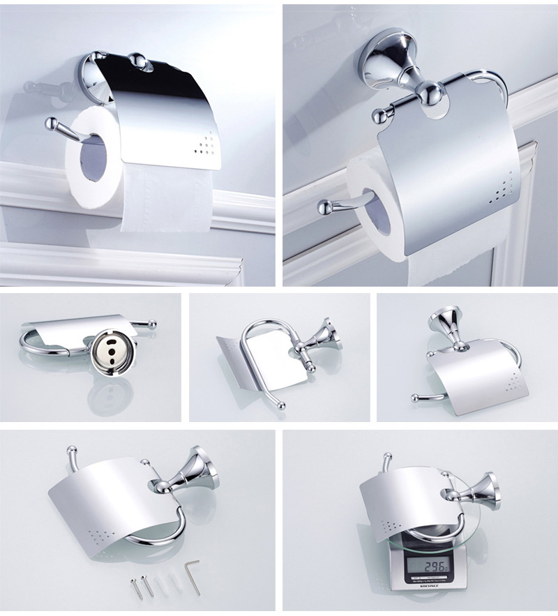 paper holder chrome