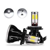 H4 Headlight Turbo Plug Play 80w 8000lm H7 H1 Headlight Bulbs 12V 24V H4 Led Hi
