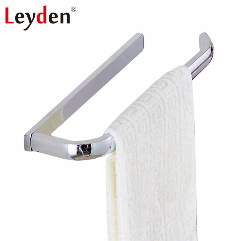Leyden Modern Brass Towel Ring Bar ORB/ Antique Brass ...