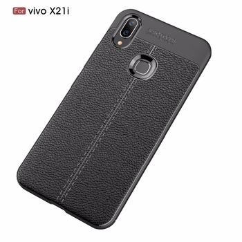 For vivo X21i Case Phone Protective ShockProof Back Shell Soft Silicone Case Luxury TPU For vivo X21i