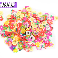 Addition Slices Slide Charms for Slime Supplies Kit Fluffy Slimes Fruit Polymer Clear Slime Accessories Putty Clay Nail Art 3d nail art fimo soft polymer clay fruit slices cartoon for nail manicure sticker cell phones diy designs wheel decoration czp35