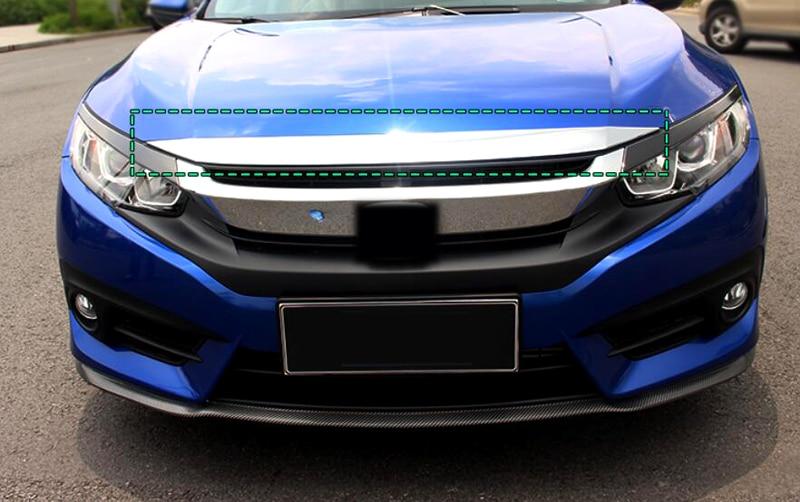 2016 2017 Engine Cover Lid Trim For Honda Civic 10th Gen 4dr Sedan seintex 71707 3d honda civic sedan black