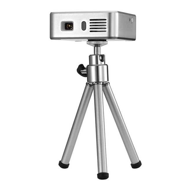 Handy Mini Projector E05 Bluetooth Wi-fi Home Theater Pico DLP LED Portátil de Bolso USB Android 4.4 Construído na bateria 3000mA