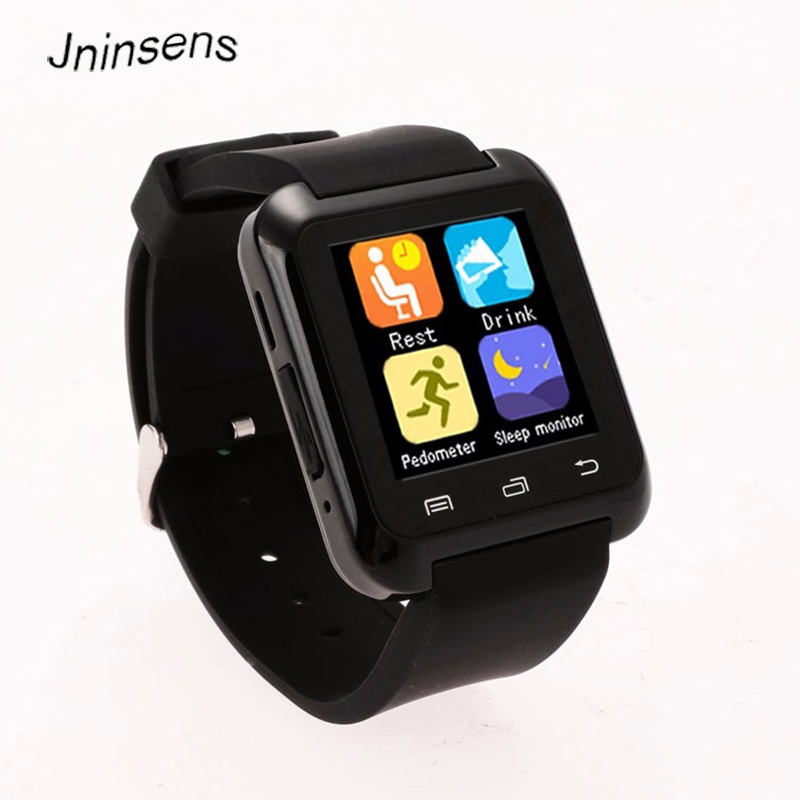 U80 Bluetooth Smart Watch WristWatch smartwatch for iPhone 4 4S 5 5S 6 6s Plus Samsung S4 Note 2 3 for HTC xiaomi Android Phone