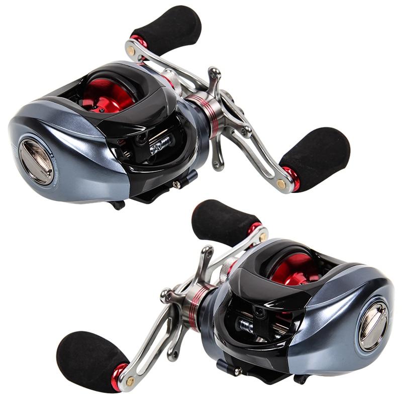 ФОТО Tsurinoya New DW1000 BaitCasting Fishing Reel 10+1BB Carretilha Pesca Aluminum Spool&Handle Magnetic Brake Carp Fishing Tackle
