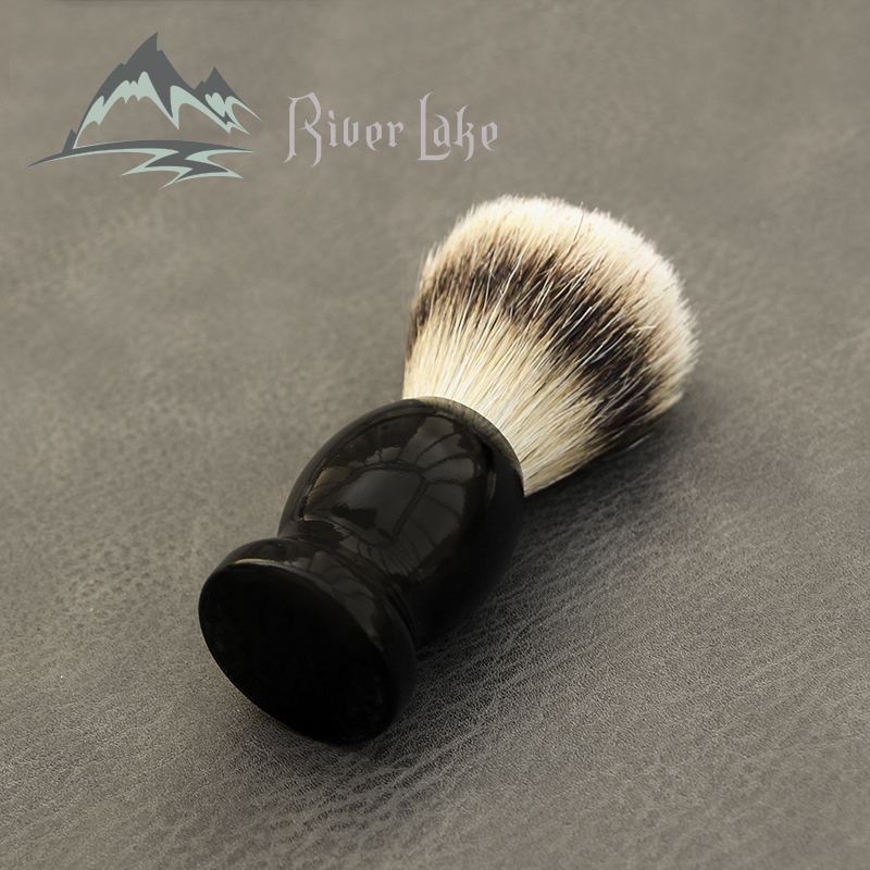 Man Pure Badger Nylon Hair Shaving Brush Wood 100% Original For Razor Edge Safety Straight Classic Safety Razo