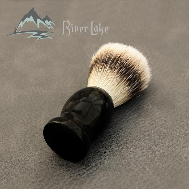 Man Pure Badger Nylon Hair Shaving Brush Wood 100% Original For Razor Edge Safety Straight Classic Safety Razo