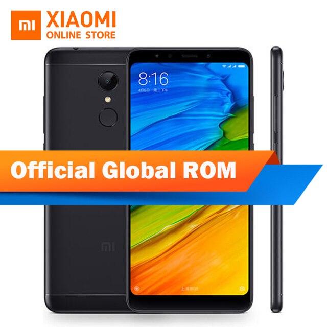 "Global ROM Xiaomi Redmi 5 plus Mobile Phone Redmi5 Plus 5.99"" Display 4GB 64GB Snapdragon 625 Octa Core 4000mAh 12.0MP Camera"
