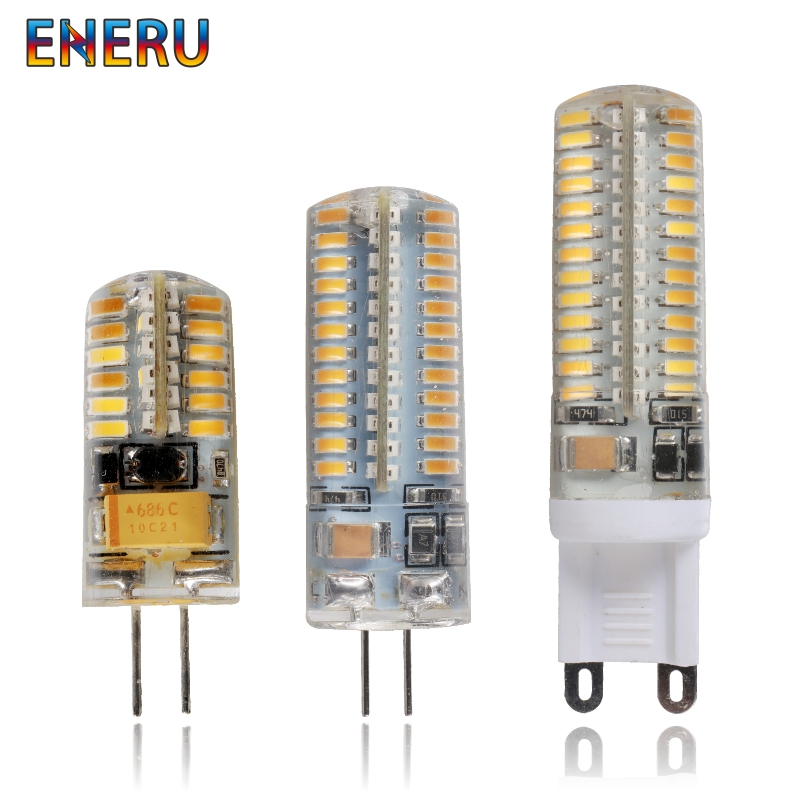 <font><b>G4</b></font> G9 LED 1w <font><b>2w</b></font> 3w 4w 5w 6w AC DC <font><b>12V</b></font> 220V Replace 20w 30w 40w 60w Halogen Lamp Light 360 Beam Angle Chandelier LED Bulb Lamp image