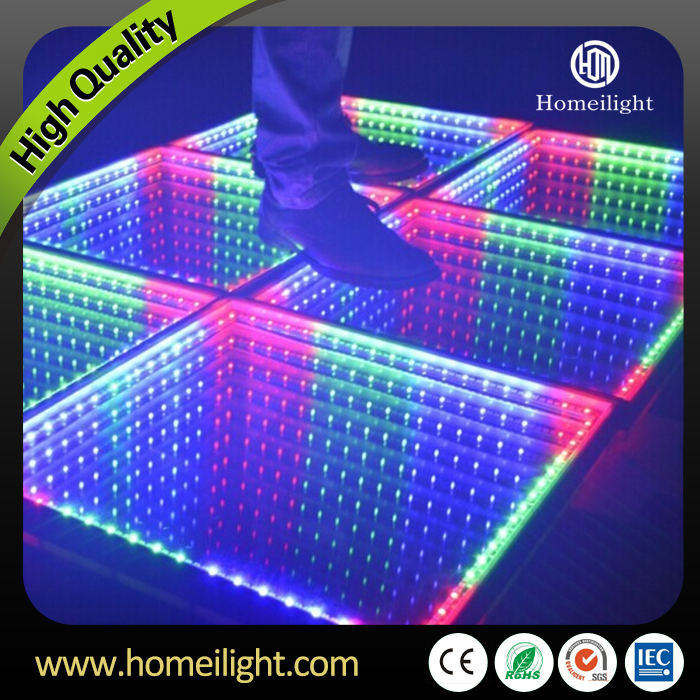 Free Shipping 3 4m Led Dance Floor Tiles Infinity Mirror