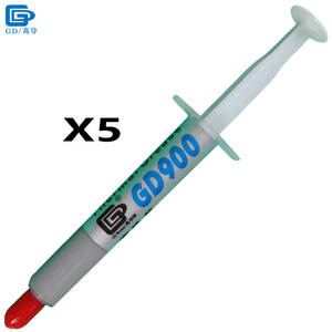 GD900 Thermal Conductive Grease Paste Silicone Plaster Heat Sink Compound 5 Pieces