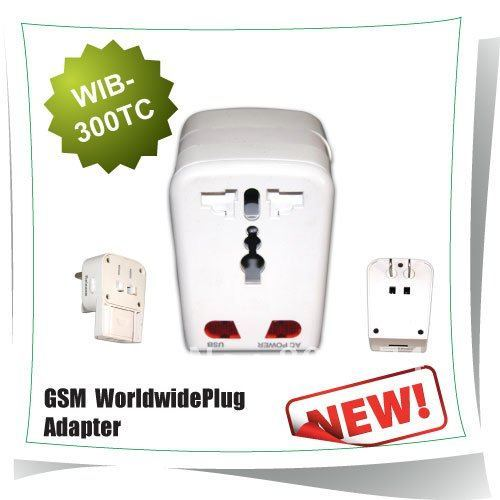 Wireless Remote Control Plug With Voice trigger call back GSM  Worldwide Plug Adapter GSM  worldwide plug adapter 300TC