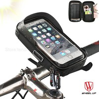 6 0 Inch Bike Bicycle Handlebar Waterproof Phone Bag Holder Motorcycle Mount For Samsung Galaxy S8
