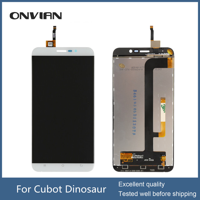Cubot Dinosaur LCD Display+Touch Screen Glass Panel Accessories Phone Replacement For Cubot Dinosaur