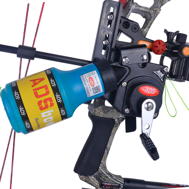 Bow Fishing Reel Spincast Bowfishing Reel Slingshot Recurve Compound Bow No Lost Arrow Hunting Rope Fit For Right Left Hand